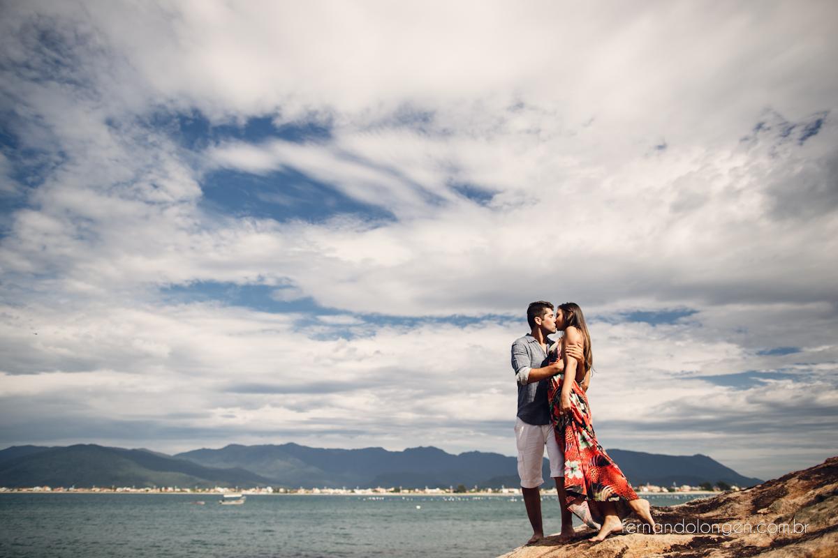 Ilha do Papagaio Ensaio Fotografico Pre Casamento Noivos Nascer do Sol Guarda do Embaú Casal Thayssa e Lucas Fotografo Casamento Fernando Longen Wedding Photographer (41)