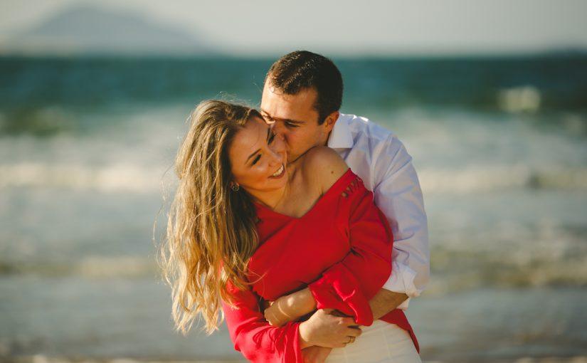 Sessão Pré Casamento na praia