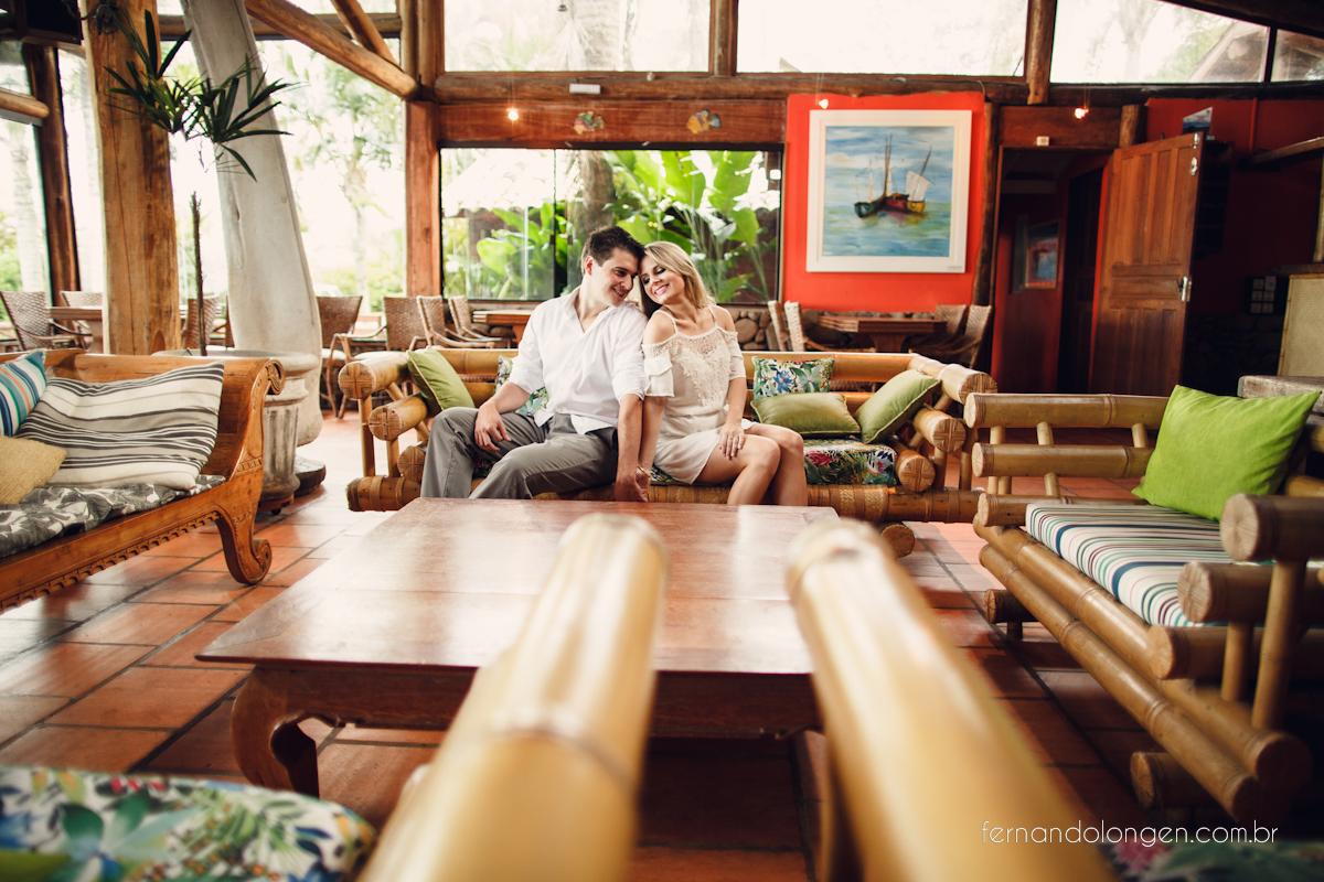 Sessão Pré Casamento na Pousada Vida Sol e Mar - Praia do Rosa - Santa Catarina - Brasil