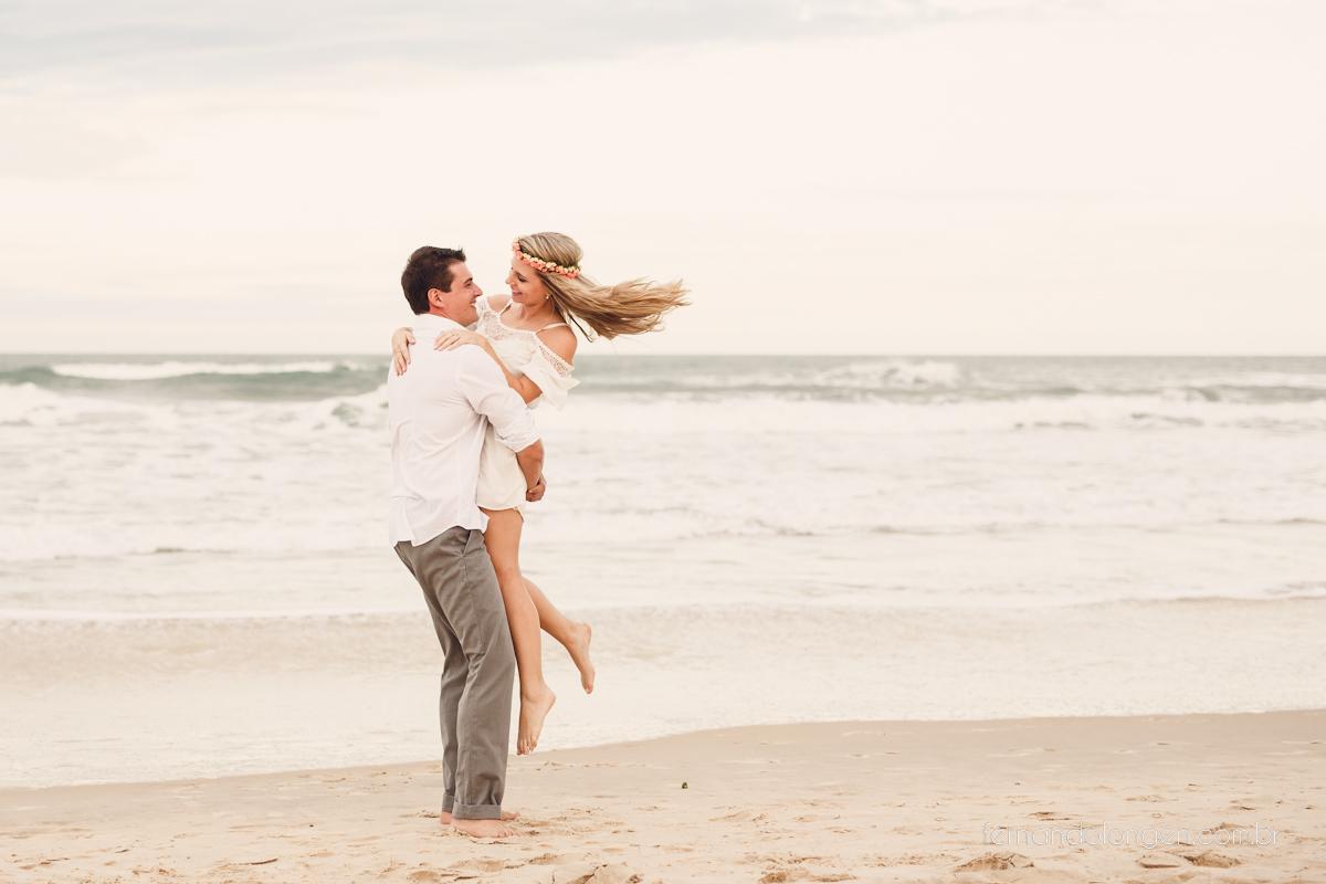 Ensaio Sessão Pré Casamento na Praia do Rosa