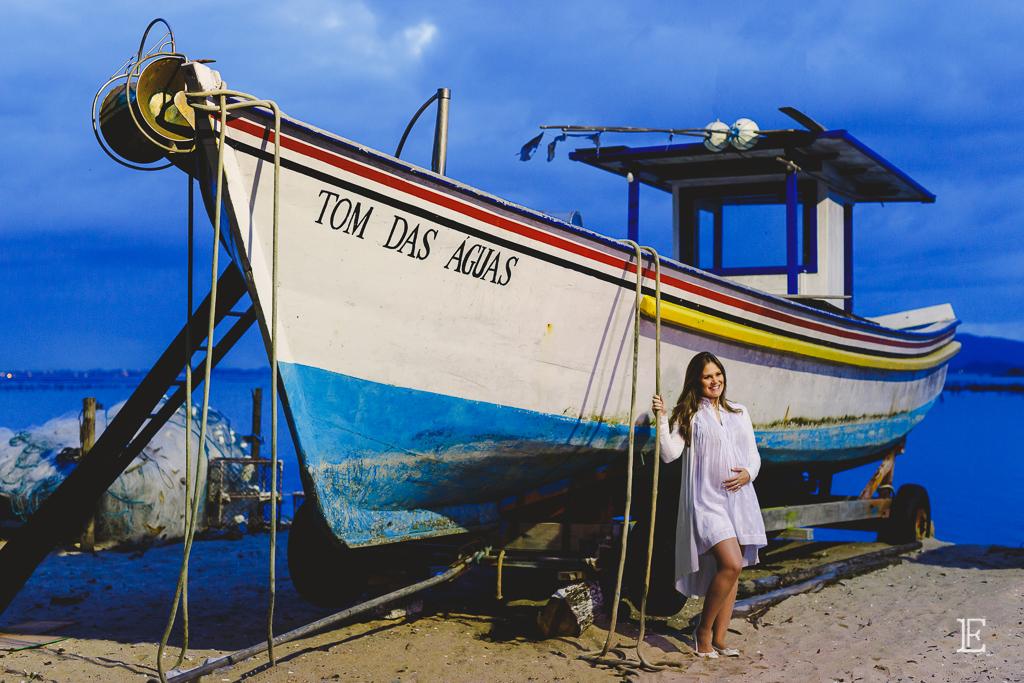 Ensaio Gestante na Praia Florianópolis